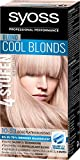 Syoss Blond Cool Haarfarbe, 10-53 Rose Platinum Stufe 3, 3er Pack (3 x 115 ml)