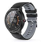 MOTOK Smartwatch Voll Touch Screen Blutdruck Uhr mit Pulsuhren Sport Uhr Aktivitätstracker Schlafmonitor Schrittzähler Smartwatch Damen Herren Smart Watch,...