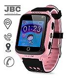 JBC GPS Uhr Kinder Telefon Uhr smartwatch Fuer Kinder kinderuhr mit GPS ohne Abhörfunktion/mit sicherem Deutschen Server, SOS...