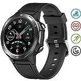 UMIDIGI Smartwatch Uwatch GT Fitness Tracker Armbanduhr Sportuhr Smart Watch für Damen Herren mit Herzfrequenz Schlaftracker 5 ATM Wasserdicht Kompatibel mit...
