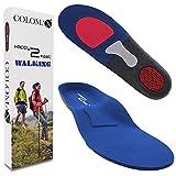 COLOMAX - WALKING - Einlegesohlen ideal für Wandern und Alltag - Optimale Dämpfung - Maximaler Halt - Für Damen & Herren (39-42 EU)