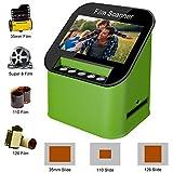 Diascanner und 4.3 Zoll TFT LCD Display 22MP All-In-1-Film Multiscanner fü Film/Slide, super 8 Film, 35mm und 110,126, Konvertiert Dias zu Digital und...