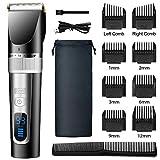 CCHOME Haarschneidemaschine,Profi Haarschneider Herren,Schnurlose Haartrimmer Bartschneider für Männer, Wiederaufladbares Haarschneiden & Haarpflege Set mit...
