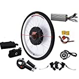 DiLiBee 1000W 48V 28' Ebike Elektro Fahrrad Umbausatz Fahrrad Elektro Umbausatz Hinterrad E-BKE Motor für Hinterrad