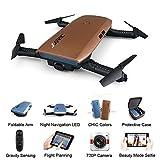 SMUOO Drohne für Kinder und Anfänger Faltbarer Mini-RC-Quadcopter mit 360-Seiten-720P-Kamera für Höhenlage-Kopflos-Modus,Beste Weihnachts,Valentinstag- und...