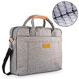 DOB SECHS 17.3 Zoll Laptoptasche Aktentaschen Handtasche Tragetasche Schulter Tasche Notebooktasche Laptop Sleeve Laptop hülle für bis zu 17-17.3 Zoll Laptop...