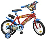 TOIMS Paw Patrol Kinder-Fahrrad  / 30 cm 35,6 cm rot