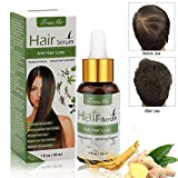 Haarserum, Anti-Haarausfall, Haarwachstums-Serum, natürliche Kräuteressenz, Anti-Haarausfall Haar Serum, für dünner werdendes Haar, Verdickung und...