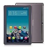 TOSCIDO 4G LTE Tablet 10 Zoll - Android 9.0 Zertifiziert von Google GMS,4GB RAM,64GB ROM,Octa Core 2 GHz CPU schnelle Geschwindigkeit,Dual SIM,WiFi,Dual Stereo...