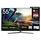 Hisense 55U8QF QLED 139cm (55 Zoll) Fernseher (4K ULED HDR Smart TV, Ultra Premium HD, HDR10+, Dolby Vision&Atmos, Full Array Local Dimming, 120Hz Panel,...