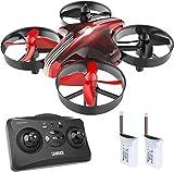 SANROCK GD65A Mini Drohne für Kinder und Anfänger, RC Drone Quadrocopter mit Höhe-halten, Kopflos-Modus, EIN-Tasten-Rückkehr, Best Spielzeug Drone für...