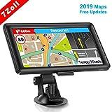 GPS Navi Navigation für Auto, LKW PKW Touchscreen 7 Zoll 8G 256M Sprachführung Blitzerwarnung mit POI Lebenslang Kostenloses Kartenupdate Navigationsgerät...