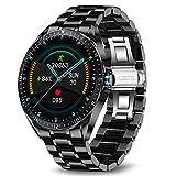 LIGE Smart Watch Herren,Fitness-Tracker MitBlutdruck,Herzfrequenzmesser,1,3-Zoll-Touchscreen,wasserdichte IP67 Smartwatch,Fitness Uhr für Männer, Edelstahl...