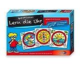 Noris 606076152 606076152-Lern die Uhr, Kinderspiel