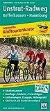 Unstrut-Radweg, Kefferhausen - Naumburg: Leporello Radtourenkarte mit Ausflugszielen, Einkehr- & Freizeittipps, wetterfest, reissfest, abwischbar, ... 1:50000...