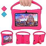 Kinder Tablets PC, Veidoo 7-Zoll-Tablet mit 1 GB RAM / 16 GB Speicher, IPS-Bildschirm, Premium-Elternsteuerung iWawa APP, Kinder (Rosa)