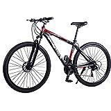 TRGCJGH Mountainbike MTB-Fahrrad - 29 Zoll Herren Alloy Hardtail Mountainbike Mountainbike Mit Verstellbarer Vorderradaufhängung,C-24Speed