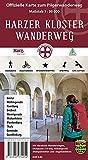 Harzer Kloster-Wanderweg: Offizielle Wander- und Fahrradkarte: Offizielle Karte zum Pilgerwanderweg. Wandern, Radfahren, Wissenswertes, Stempeln, GPS-Gitter