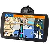 Navigationsgerät für Auto Navi LKW Navigation PKW Navigationssystem 9 Zoll 16GB Lebenslang Kostenloses Kartenupdate mit POI Blitzerwarnung Sprachführung...