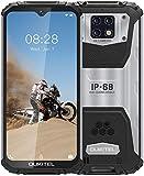 OUKITEL WP6 Outdoor Smartphone Ohne Vertrag (2021), 10000 MAH Akku 18 W Schnellladung, Helio P70 6GB+128GB, 6,3 Zoll FHD+ IP68 Robustes, 48 MP Quad-Kamera,...