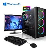 Megaport Komplett PC Gaming PC AMD Ryzen 5 2600 • 24' Monitor • Tastatur • Maus • Nvidia GeForce GTX1660 • 16GB DDR4 RAM • 240GB SSD • Windows 10...