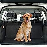 Toozey Kofferraum Hundegitter für Auto, SUV Universal - Kopfstützen-Befestigung&Gurte Doppelte Fixierung Schutzgitter Trenngitter für Hunde - Verstellbar,...