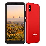 KXD 6A (2021) Smartphone ohne Vertrag Simlockfrei Handy Android Go 3G Dual SIM 8GB ROM 64GB erweiterbar 5,5 Zoll Display Gesichtserkennung Günstig Einsteiger...
