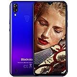 Blackview A60 Pro 4G Smartphone ohne Vertrag Günstig 6,1 Zoll Android 9.0 3GB RAM + 16GB ROM, 256GB erweiterbar 4080mAh Akku 8MP+5MP Dual Kamera Dual SIM Handy...