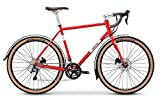 breezer Doppler Pro Cyclocross Bike 2019 (58cm, Red & Cool Gray)
