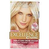 L'Oreal Excellence Creme-Haarfarbe Blondton 03 Lightest Natural Ash Blonde, 3 Packungen