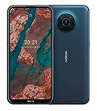 "Nokia X20 5G Smartphone, Dual-SIM, RAM 8GB, ROM 128GB, 64MP Quad-Kamera, Wasserzeichen-Fähigkeit, 6,67"" Full HD+ Display, langlebiges Design, 2 Tage..."