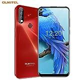 Oukitel C17 Pro (2019) Smartphone ohne Vertrag Günstig Triple Kamera (AI Modus) 6,35 Zoll Full Screen Android 9.0 Handy 4GB RAM+64GB ROM, 3900 mAh Akku Dual...