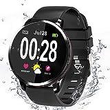 Smartwatch, Fitness tracker, Bluetooth Uhr, Aktivitäts Tracker, Unterstützung Sport Kalorienzähler / Herzfrequenz / Blutdruck / Musik und...