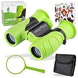 Monte Stivo ® Junior | Lebensmittelechtes Fernglas für Kinder 8x21 | Set als Geschenk für kleine Entdecker & Abenteurer