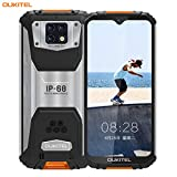 OUKITEL WP6 (2020) Outdoor Handy, 4G IP68 wasserdichter Smartphone Ohne Vertrag,10000mAh Robustes Handy, 48MP Android 9.0 Global Version 6,3 Zoll 6GB 128GB...