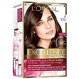L'Oréal Paris Excellence Creme Coloration, 4 - Mittelbraun