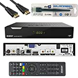 Edision Piccollo S2+T2/C Full HD Satelliten-Kabel-Receiver FTA HDTV DVB-S2/C/T2 (HDMI, AV, USB 2.0,Display,CA,CI,LAN) Deutsch vorprammiert inkl.Wlanabel und...
