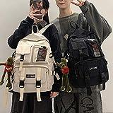 Frauen Jungen Nylon Rucksack Reise Mesh Studentin College Schultasche Männer Mädchen Cool Laptop Rucksack Männlichen Mode Buch Taschen Lady