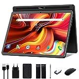 Tablet 10 Zoll Android 10.0,Google Tablett Pad mit Tastatur, Maus und Stift, 32GB ROM 128GB erweiterbar,Octa-Core-Prozessor,13MP&5MPKamera,1920x1200 IPS...