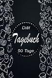 Diät Tagebuch 90 Tage: 90 tage challenge| Das 13-Wochen-Tagebuch | Diättagebuch für Essensplanung und Sport