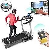 Bluefin Fitness Kick High-Speed Laufband | Leise | 20 km/h + 7 PS + 15% Steigung | Gelenkschonende Technologie | Digitale Fitnesskonsole | App +...