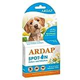 ARDAP Spot on  Zecken und Flohschutz für kleine Hunde bis 10 kg
