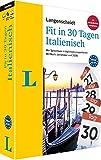 Langenscheidt Fit in 30 Tagen Italienisch - Sprachkurs für Anfänger und Wiedereinsteiger mit Buch, 3 CDs und Lernplaner: Der Sprachkurs in täglichen ... –...