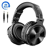 Bluetooth Kopfhörer Over Ear OneOdio Geschlossene Studio Kopfhörer Kabellos mit 30 Stunden Spielzeit Wireless Kopfhörer On Ear Headphones mit CVC 8,0...