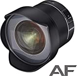 SAMYANG AF 14mm F2,8 Nikon F - Autofokus Ultra Weitwinkel Objektiv mit 14 mm Festbrennweite für Vollformat Nikon DSLR Spiegelreflex Kameras mit Nikon-F Mount,...