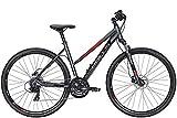 BULLS Crossbike 1 28 Zoll Damenfahrrad Crossrad 2021, Farbe:grau, Rahmenhöhe:54 cm