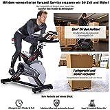 Sportstech Profi Indoor Cycle SX400 inkl. VORMONTAGE– Deutsche Qualitätsmarke - mit Video Events & Multiplayer App, 22KG Schwungrad, Pulsgurt...