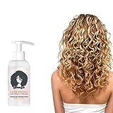 Bounzie Curl Boost Defining Cream,Super Curl Defining Booster, Lockencreme,Bounce curl Activator für Locken Sprungkraft und Locken pflege,Curly Hair...