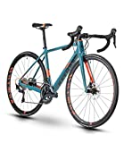 RAYMON Raceray 8.0 Carbon Rennrad Petrol blau/orange 2020: Größe: 60 cm