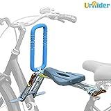 UrRider Fahrradkindersitz, Fahrradkindersitz für Kleinkinder, Faltbarer und ultraleichter Kinderfahrradträger-Handlauf für Cruiser/Faltbare/City-Shared-Bike